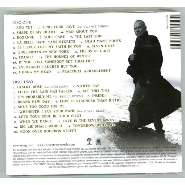 STING GREATEST HITS (2014) 2CD Digipak New / Factory-Sealed Rare!