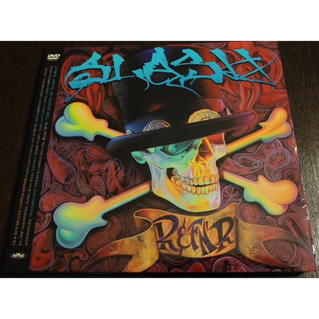 slash SLASH ( deluxe edition CD + DVD ) New / Factory-Sealed!