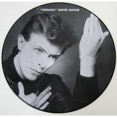 David Bowie 'Heroes' Ltd Picture Disc
