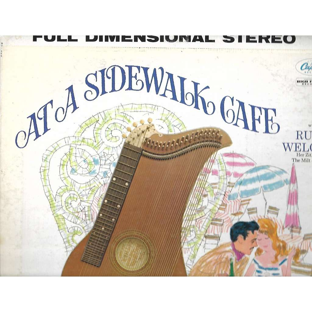 Ruth Welcome And The Milt Shaw Trio At A Sidewalk Cafe