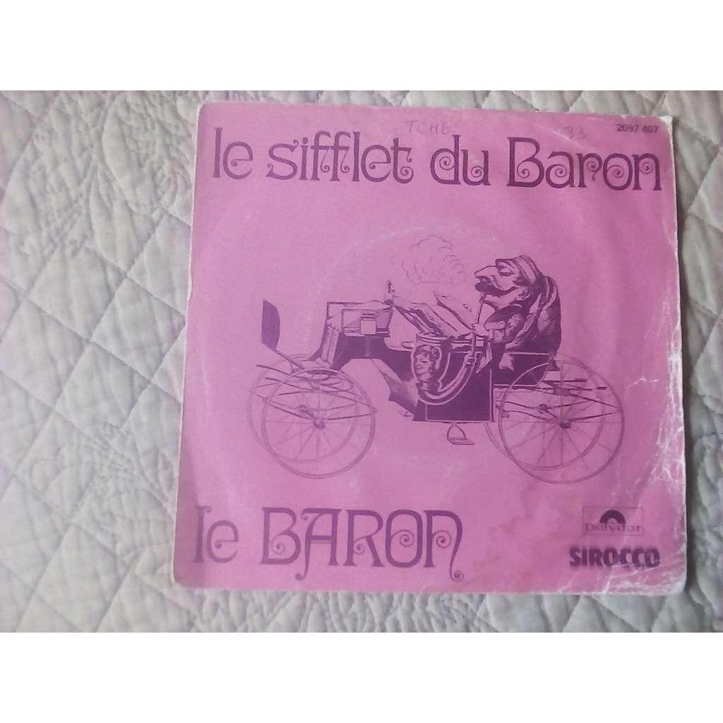 le baron le sifflet du baron
