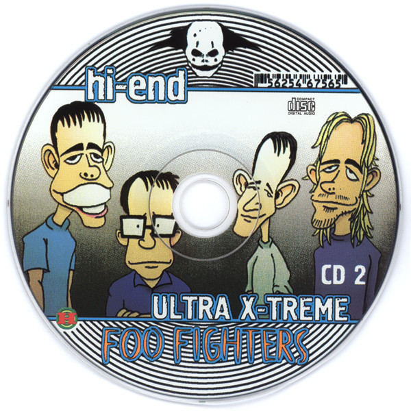 Foo Fighters Hi-End Ultra X-Treme (2CD greatest hits compilation) Halahup