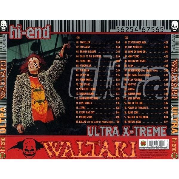 Waltari Hi-End Ultra X-Treme (2CD greatest hits compilation) Halahup