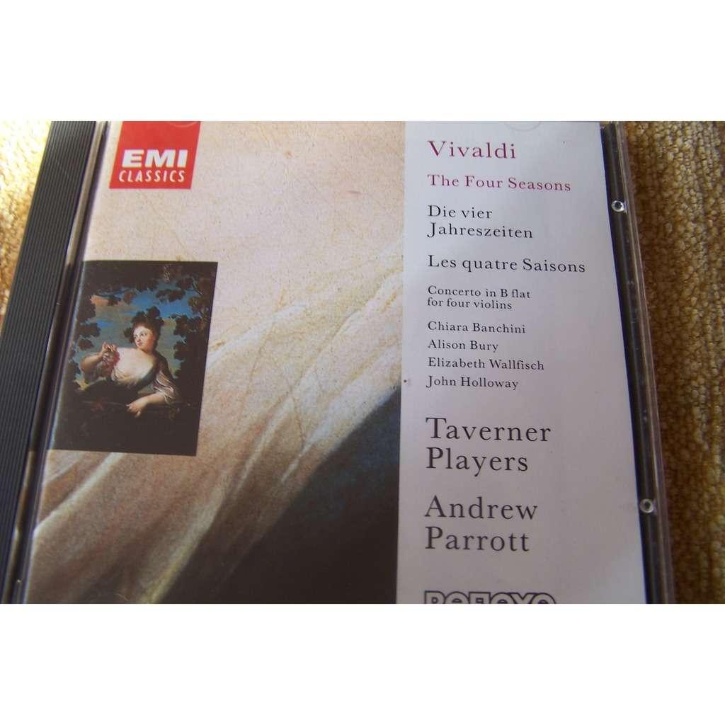 Andrew Parrott taverner players Vivaldi: les quatre saisons