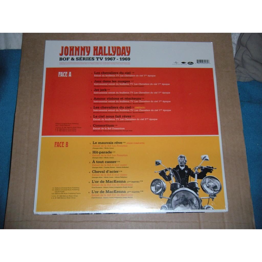 JOHNNY HALLYDAY A TOUT CASSER - BOF & SERIES TV 1967/1969