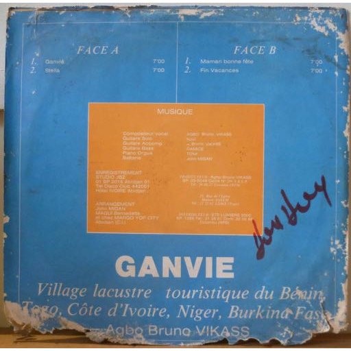 AGBO BRUNO VIKASS Ganvie