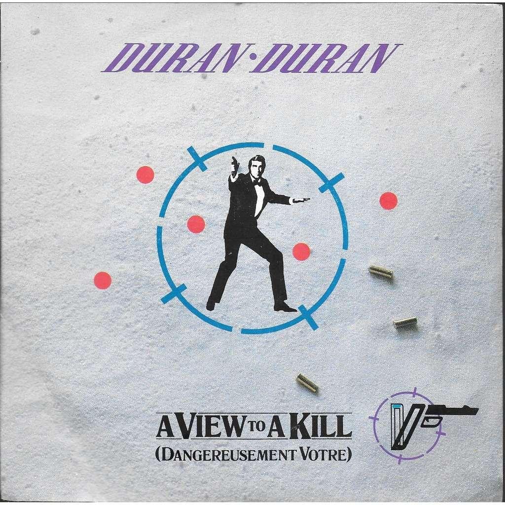 DURAN-DURAN A View To a Kill (BOF)