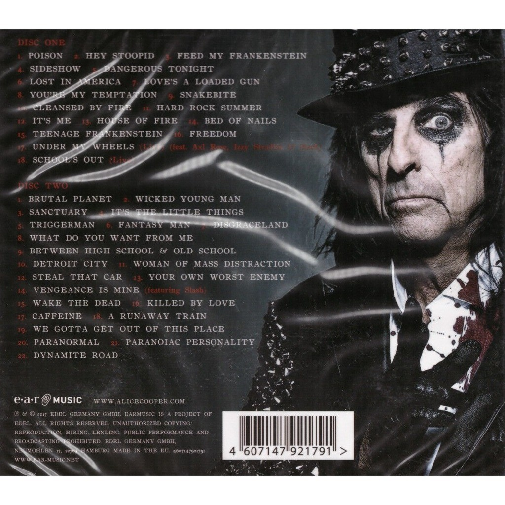 Alice Cooper Greatest Hits 2CD Digipak New Sealed