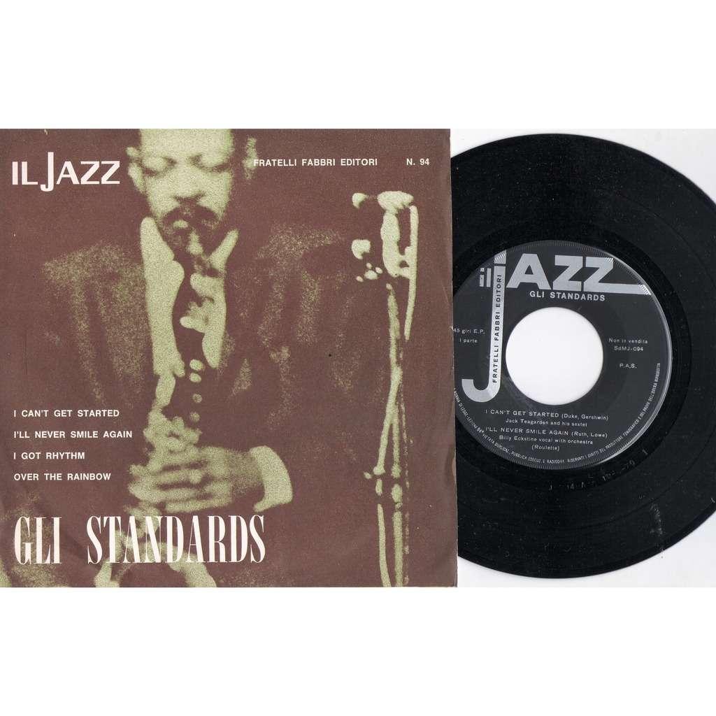 S. Vaughan / J. Teagarden / Don Goldie / A pepper Il Jazz - Gli Standards (Italian 1970 promo 4-trk 7ep sampler unique ps)