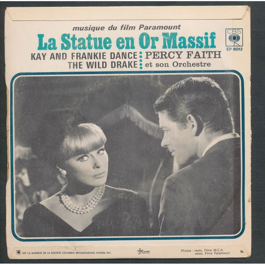 PERCY FAITH le virginien - la statue en or massif