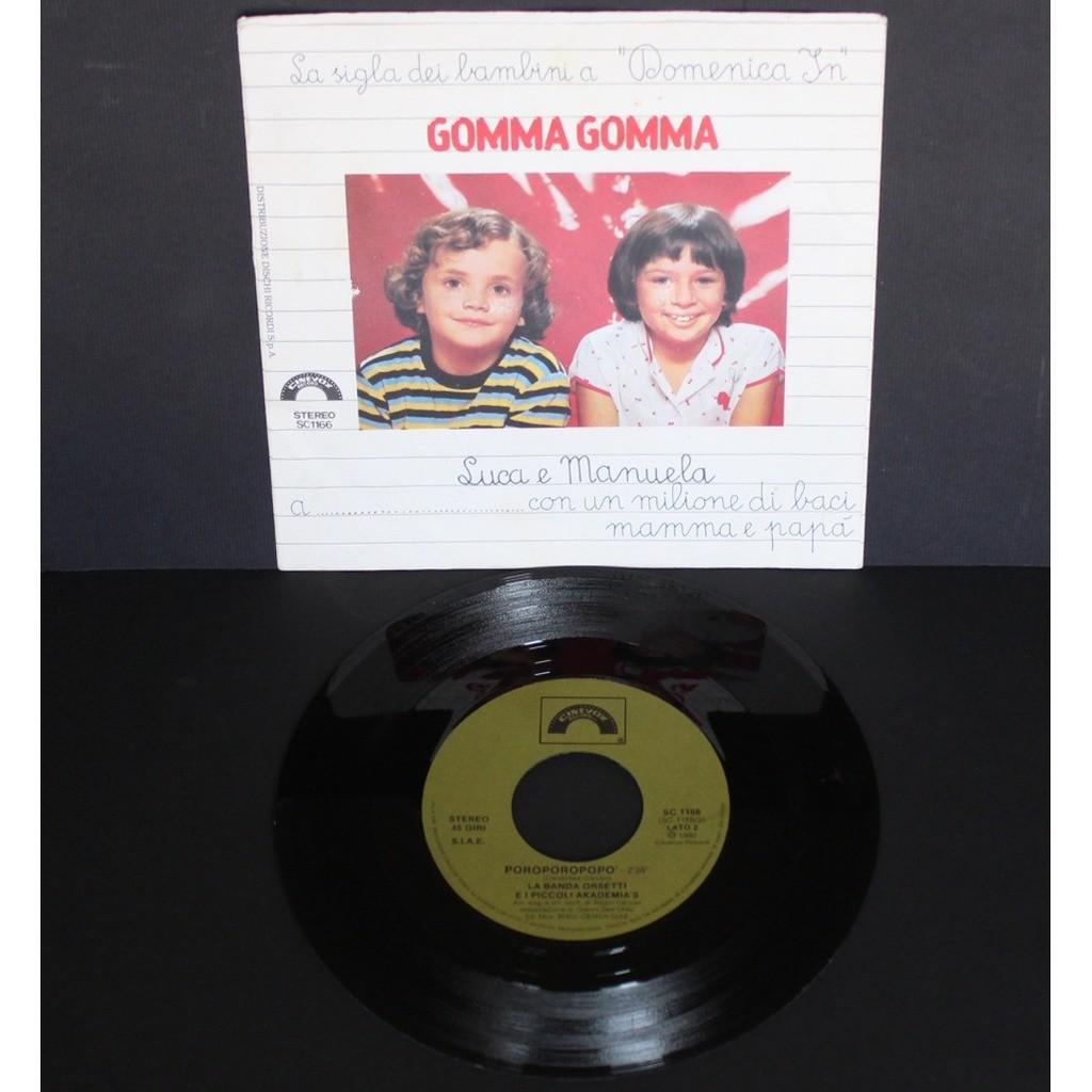 Luca E Manuela Gomma gomma