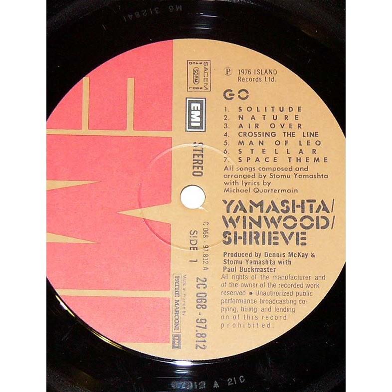 Stomu Yamashta / Steve Winwood / Michael Shrieve Go