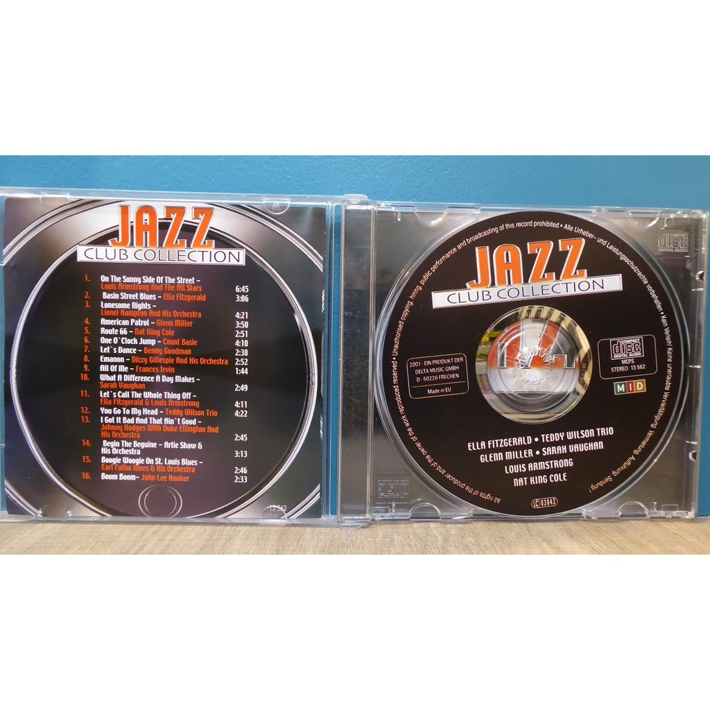 divers (various artists) jazz club collection
