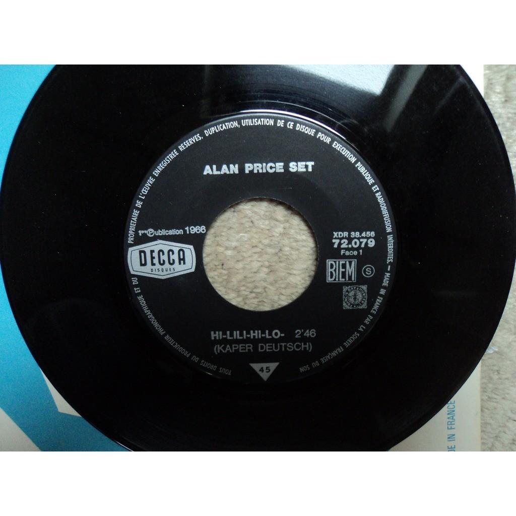 Alan Price Set Hi-Lili, Hi-Lo / Take Me Home