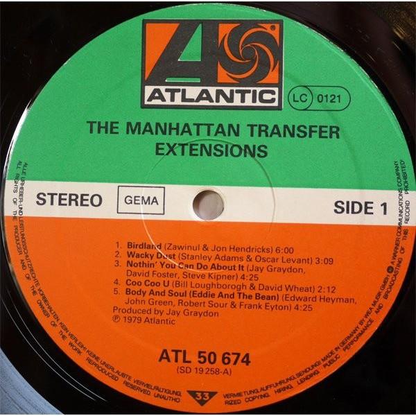 Manhattan Transfer Extensions