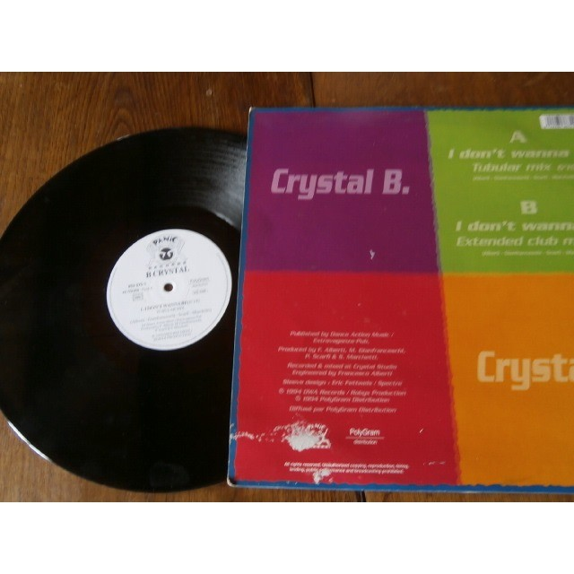 crystal b I don't wanna be