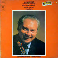Jean Sibelius Konzert für violine ind orchester d-moll op.47 Karelia-suite op.11 Isaac STERN