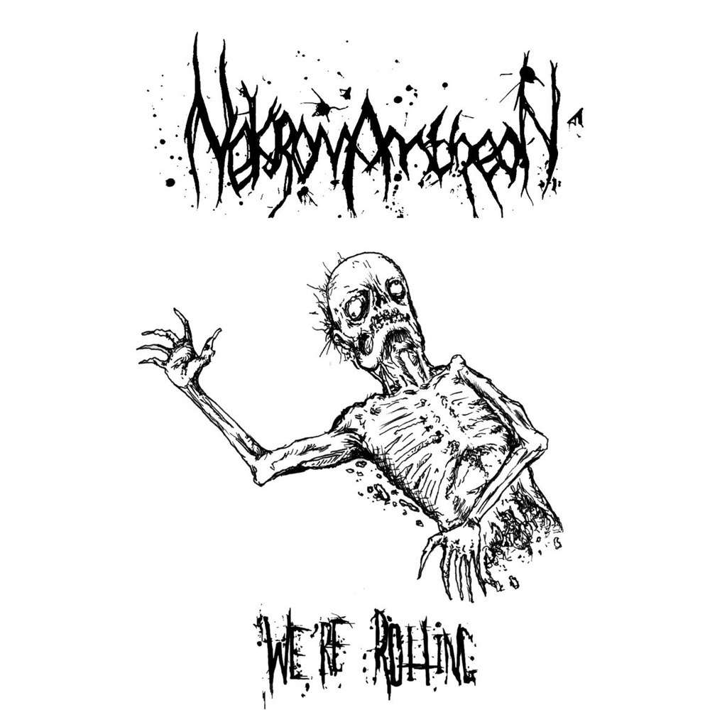 NEKROMANTHEON We're Rotting. Black Vinyl