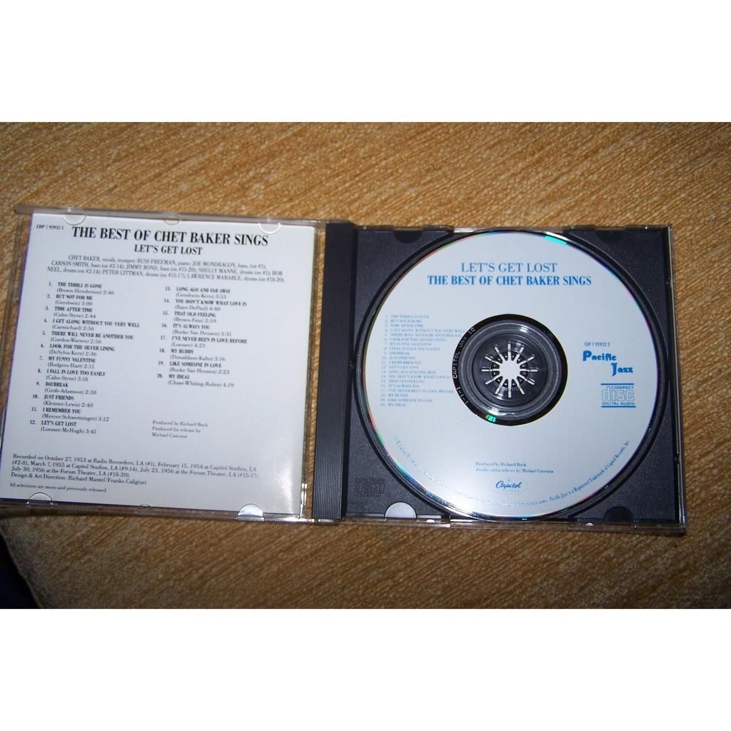Chet Baker Let's Get Lost – The Best Of Chet Baker Sings
