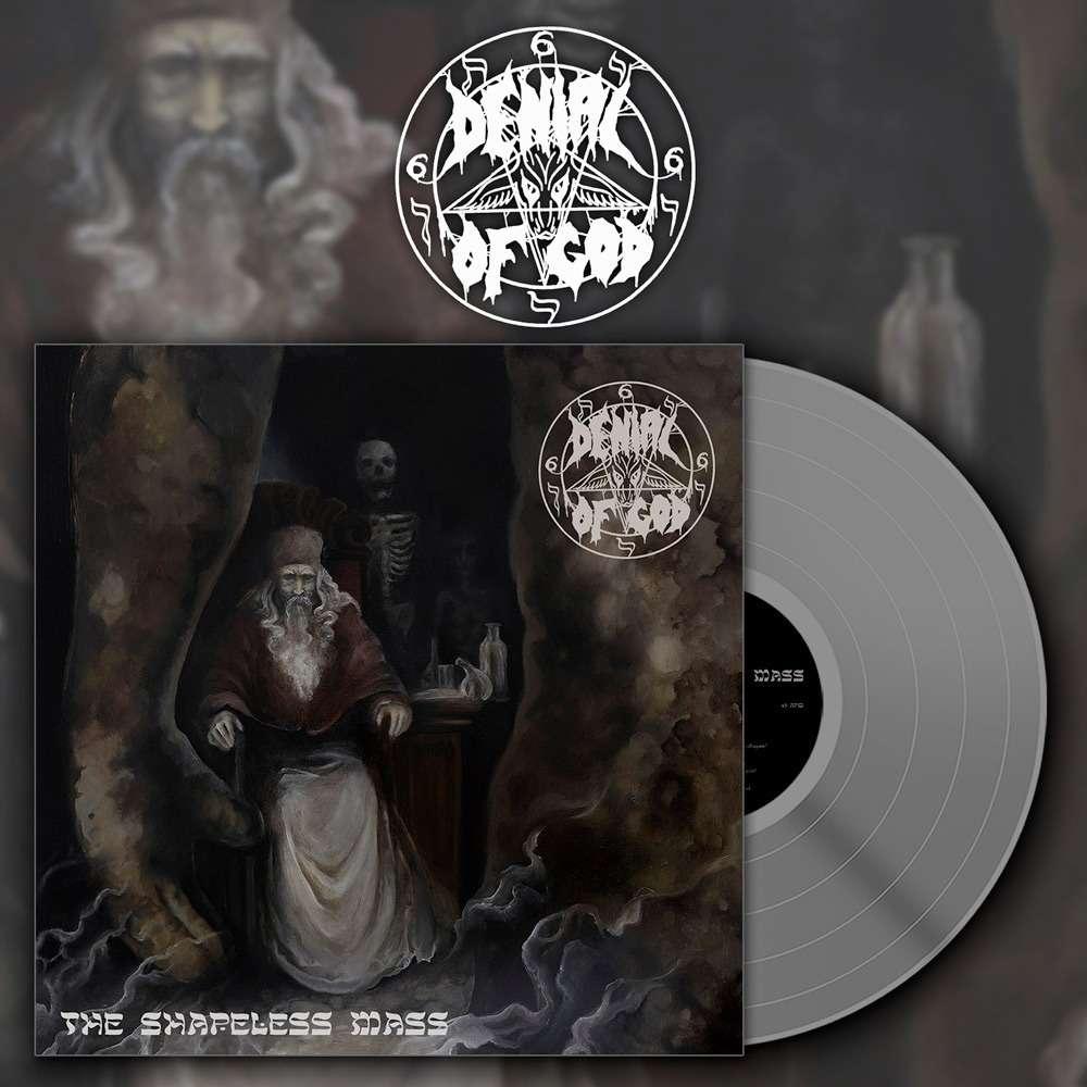 DENIAL OF GOD The Shapeless Mass. Grey Vinyl