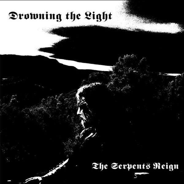 DROWNING THE LIGHT The Serpents Reign. Picture LP