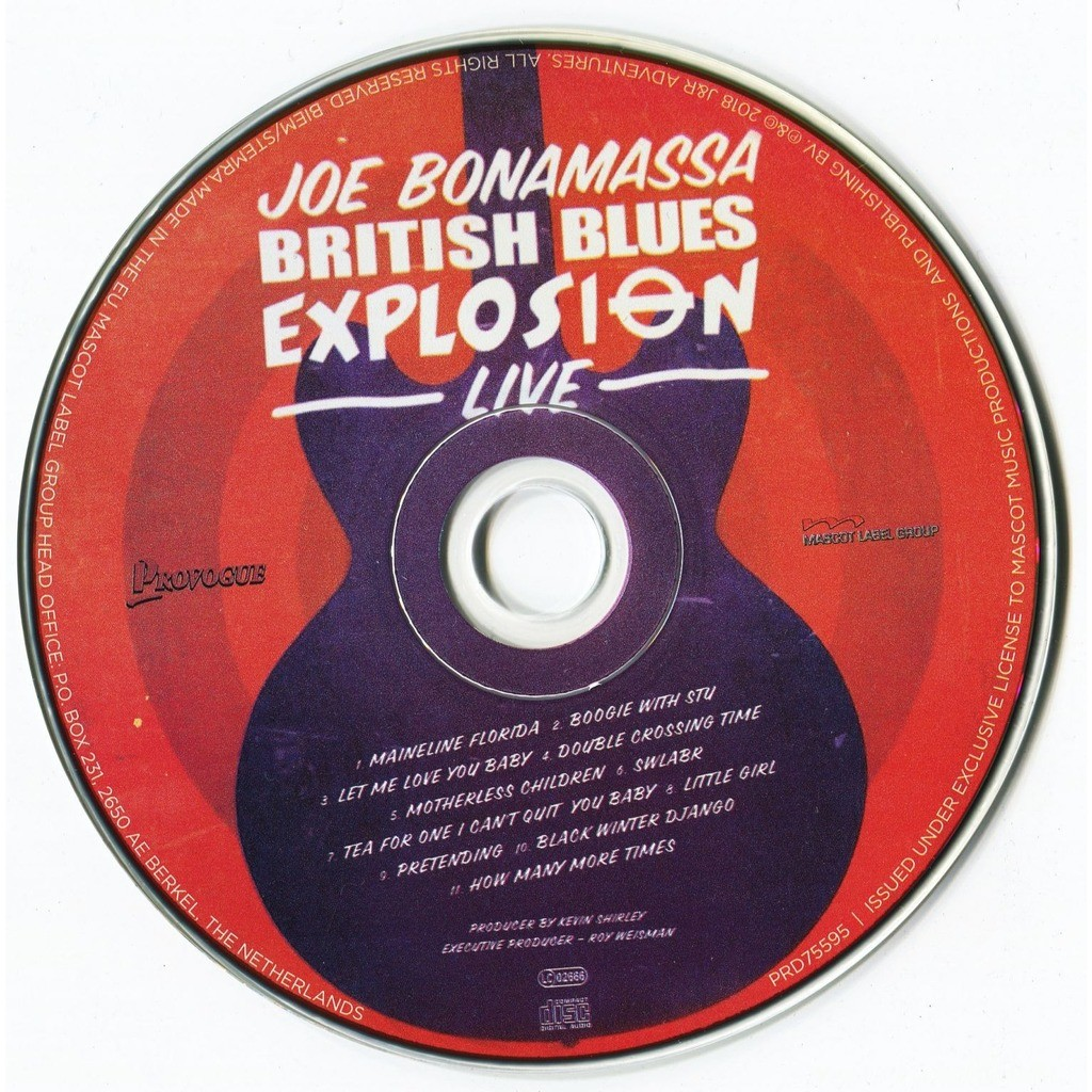 Joe Bonamassa Redemption / British Blues Explosion Live (2CD Deluxe Edition) 2018 Digipak Factory-Sealed