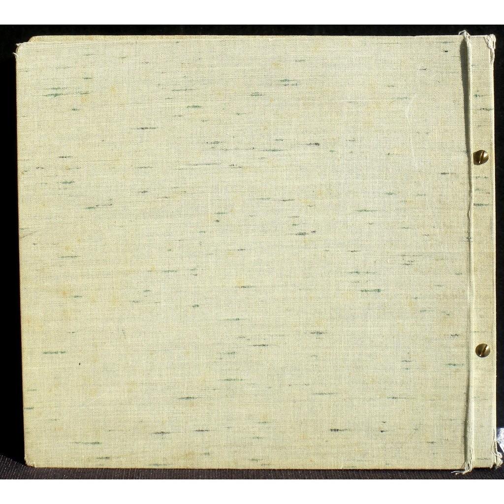 Superbe album toilé gris pâle 78 trs 30 cm 12 pochettes