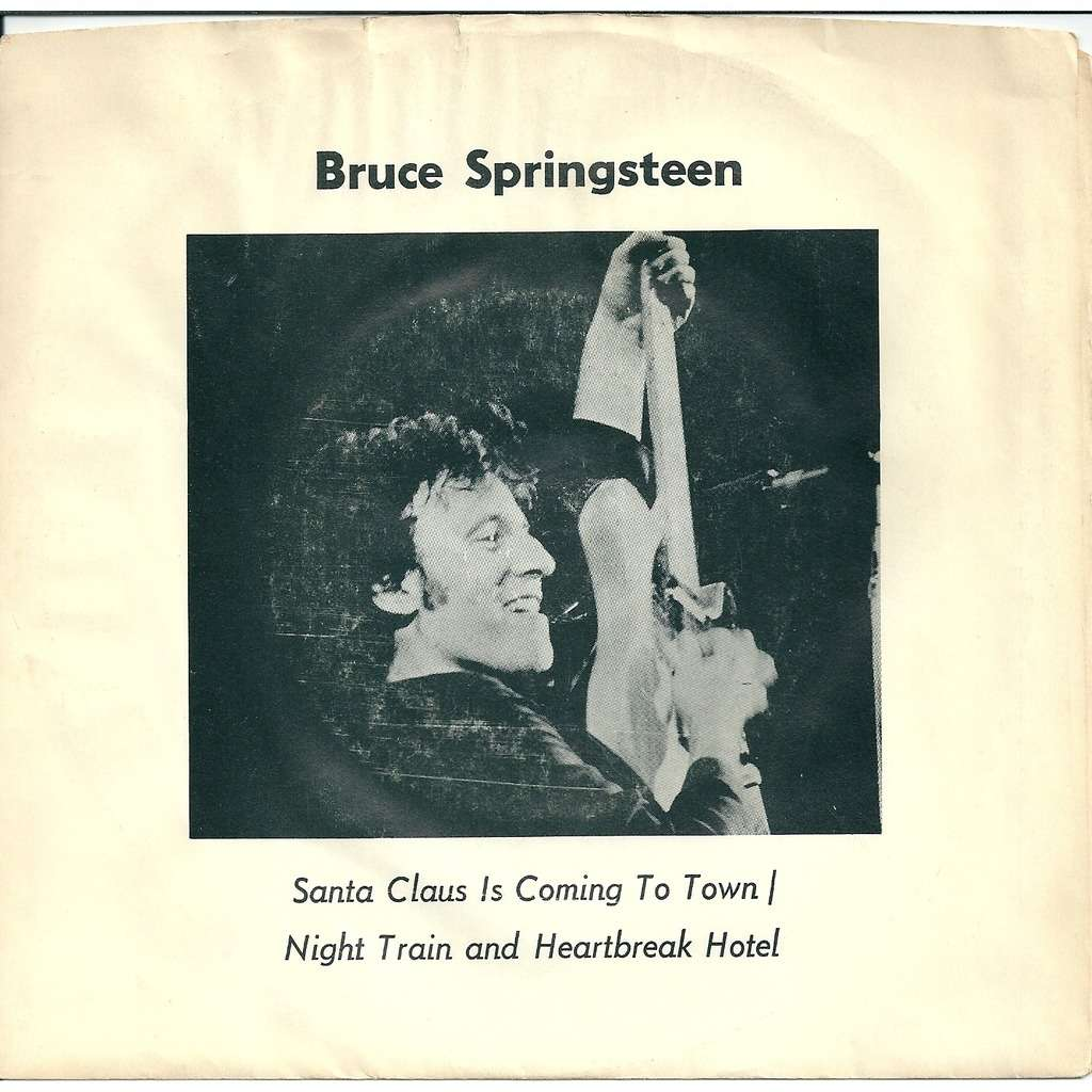 Bruce Springsteen Santa Claus is coming to town - vinyl rouge
