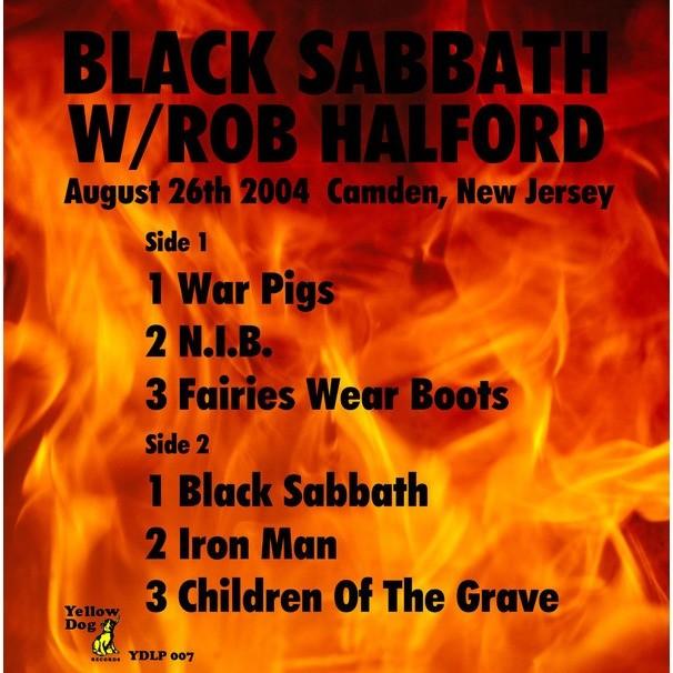 Black Sabbath Iron God (lp) Ltd Edit Coloured Vinyl -E.U