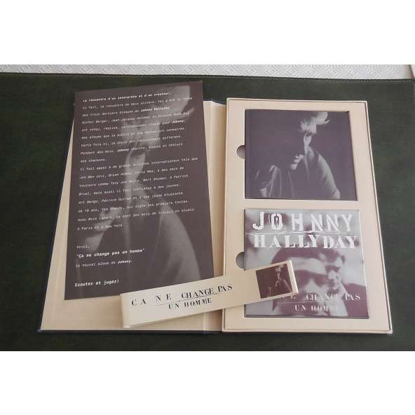 johnny hallyday *** coffret promo johnny hallyday ca ne change pas un homme