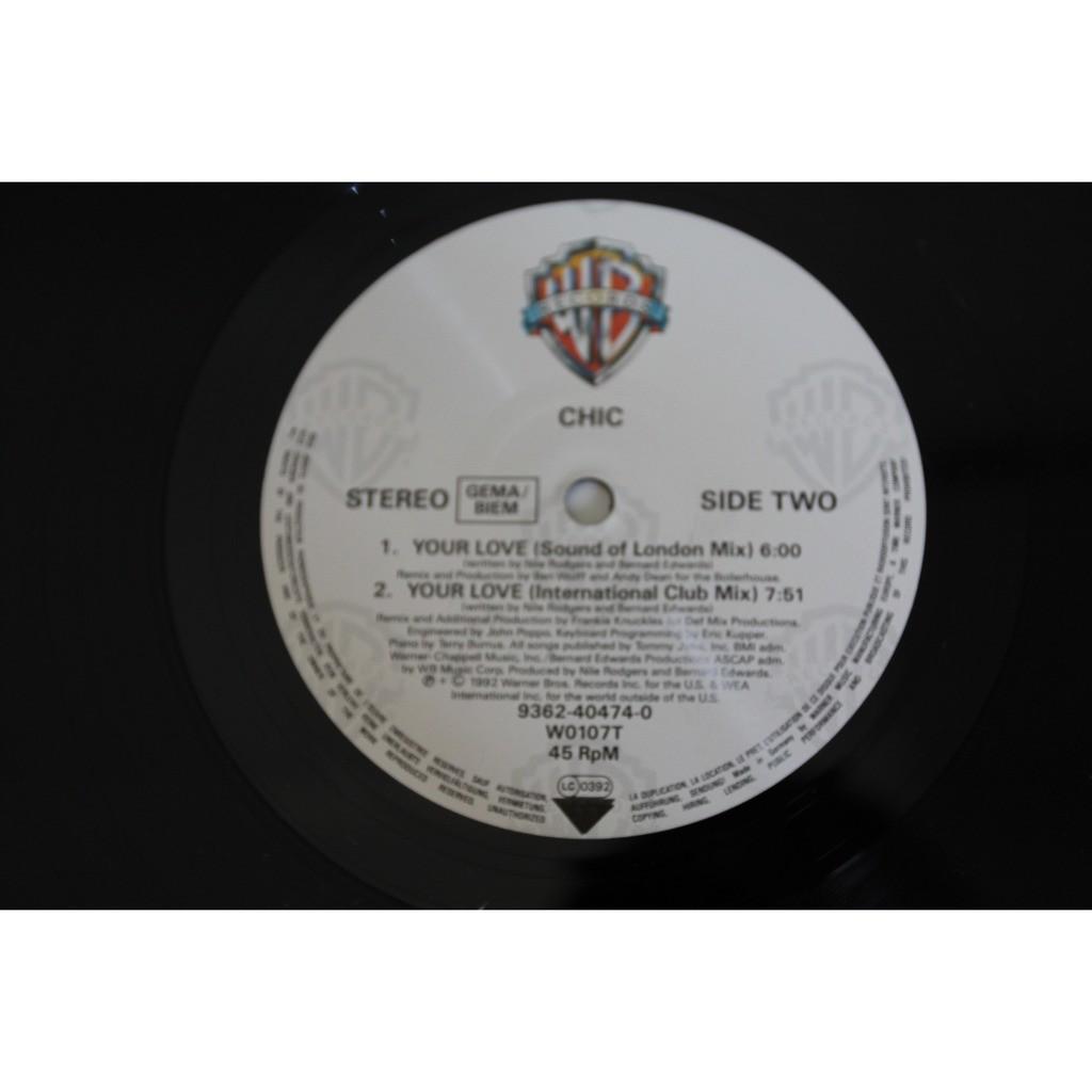 Chic (maxi vinyl) your love