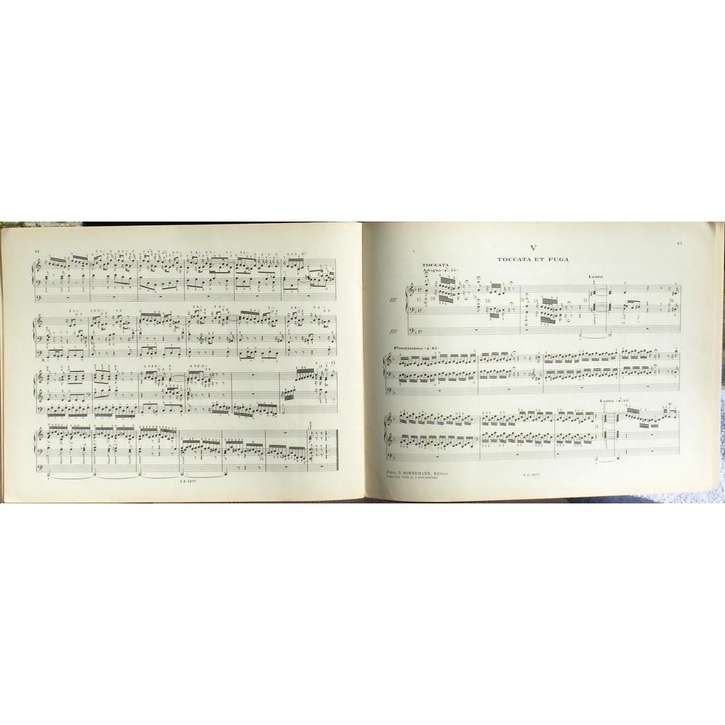 Partition/Score Bach Marcel Dupré Bornemann vol 3 Partition/Score Bach Marcel Dupré Bornemann vol 3 3 fantaisies & fugues... EX