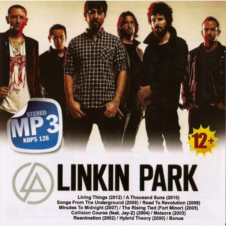 Linkin Park Mp3 Collection 10 Albums Cd Worldwide Free Shipping