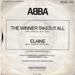 ABBA The Winner Takes It All / Elaine