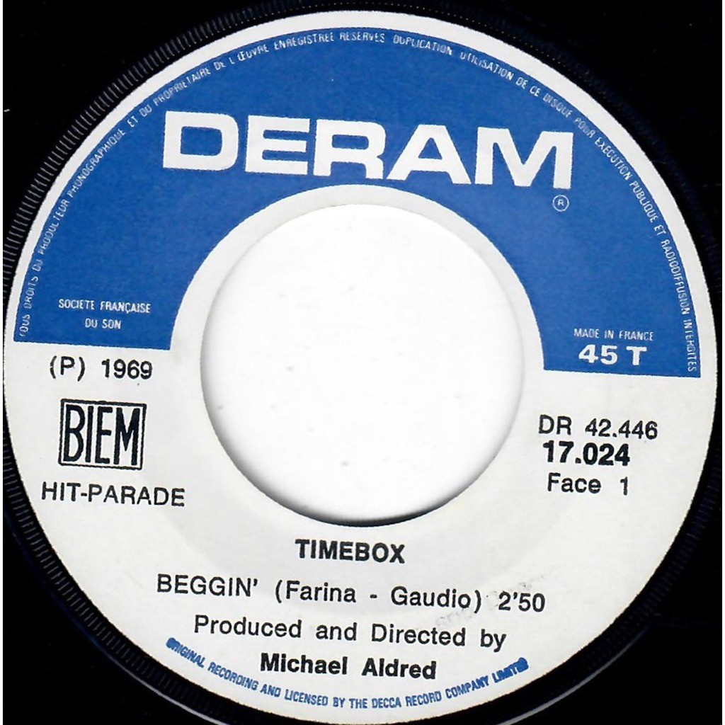 TIMEBOX Beggin' / A Woman that's waiting