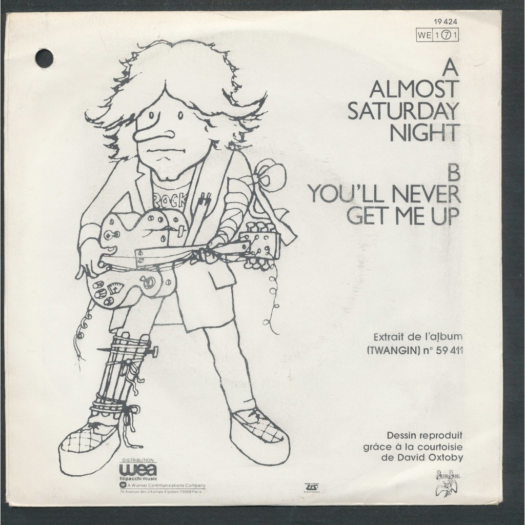 DAVE EDMUNDS Almost Saturday night - you'll never get me up