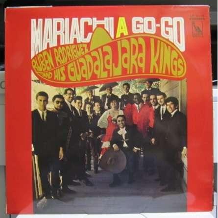 Ruben Rodriguez & His Guadalajara Kings Mariach A Go-Go -red vinyl-