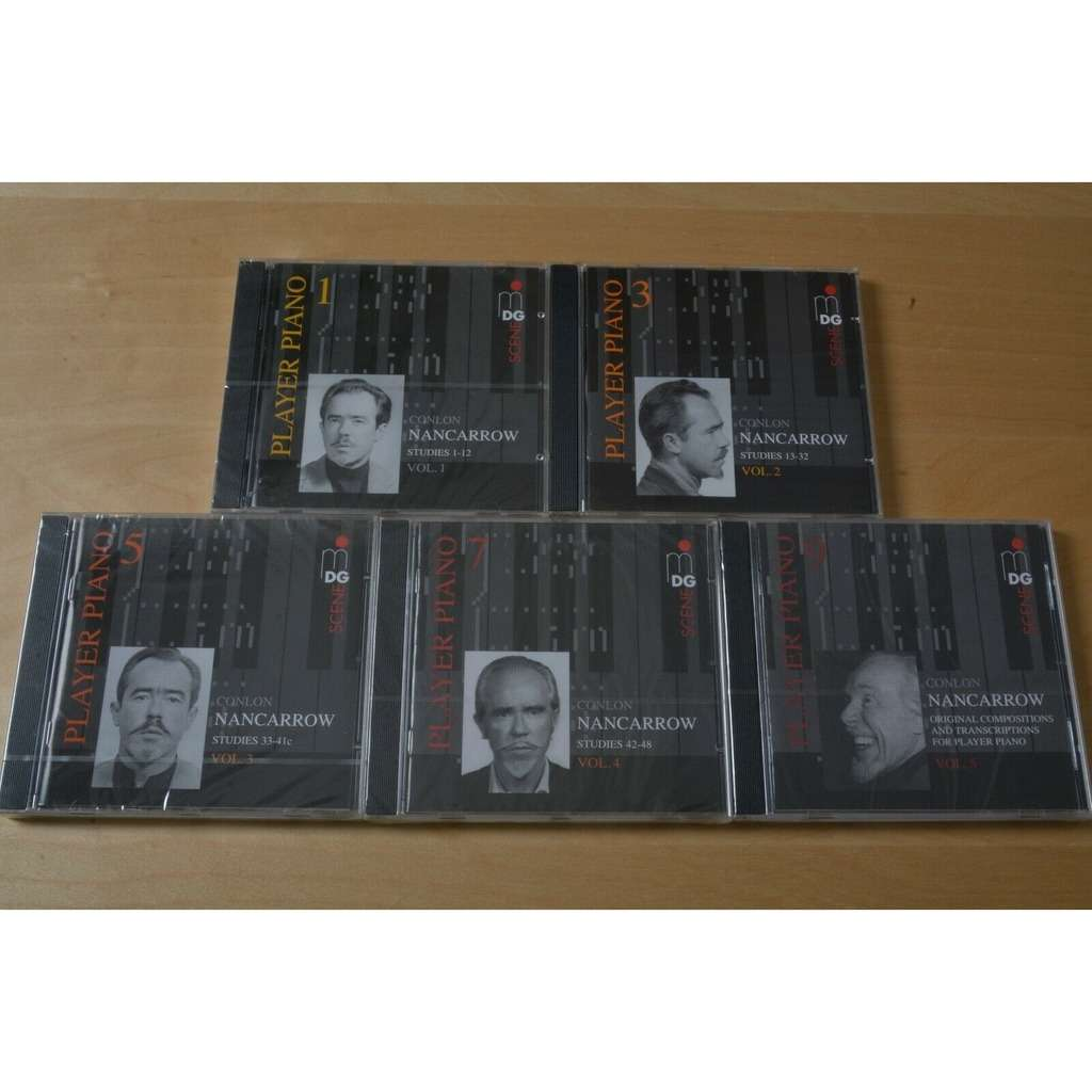 Conlon Nancarrow Player Piano • Vol. 1 - 5