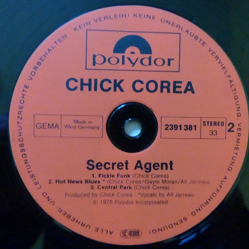 CHICK COREA SECRET AGENT