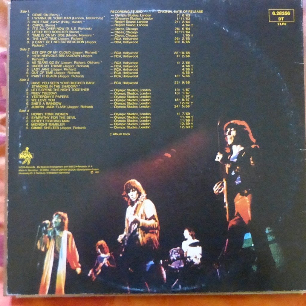 THE ROLLING STONES ROLLED GOLD THE VERY BEST OF