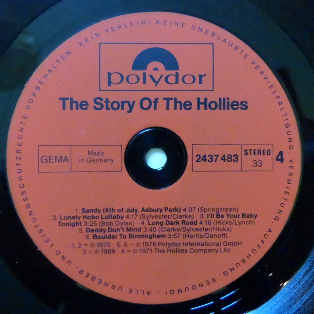 THE HOLLIES the story of