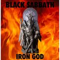 BLACK SABBATH - Iron God (lp) Ltd Edit Coloured Vinyl -E.U - 33T