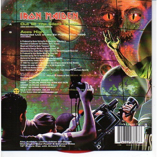 IRON MAIDEN Out of the silent planet