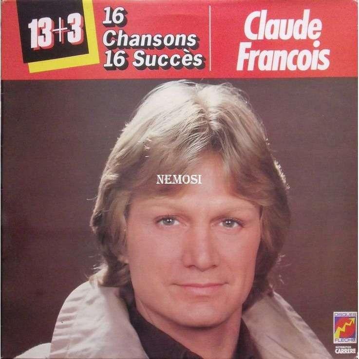 Claude FRANCOIS 16 CHANSONS 16 SUCCES
