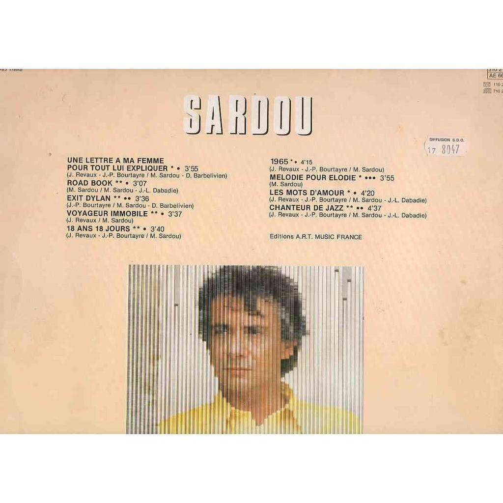 Une Lettre A Ma Femme Pour Tout Lui Expliquer 1965 Les Mots Damour Chanteur De Jazz De Michel Sardou 33 13 Rpm Gatefold Con Papman
