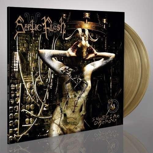 SEPTIC FLESH Sumerian Daemons. Gold Vinyl
