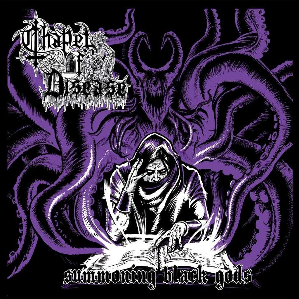 CHAPEL OF DISEASE Summoning Black Gods. Purple Vinyl