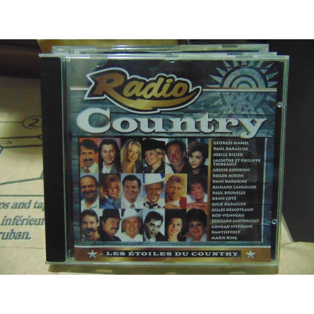 artistes variés radio country/Les étoiles du country