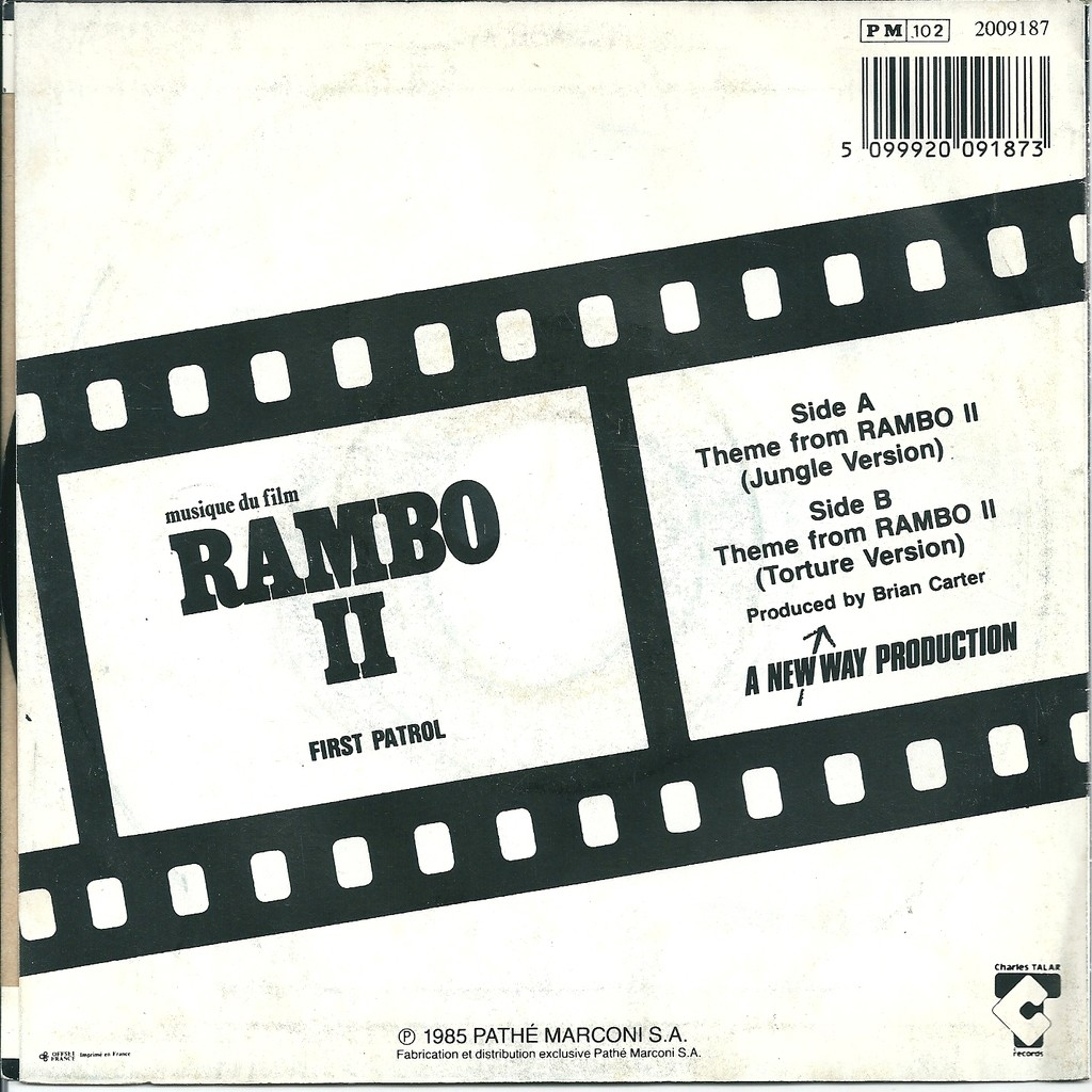 First Patrol Rambo II