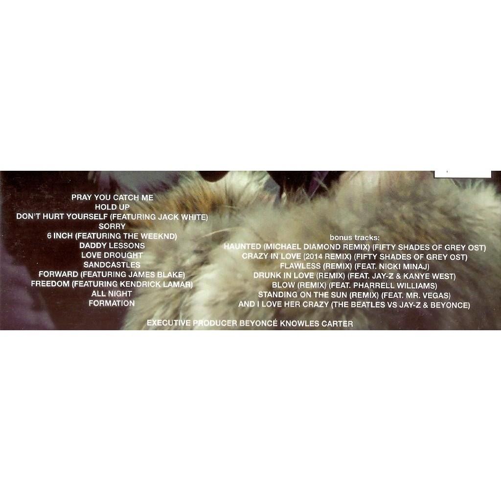 Beyonce Lemonade CD (with 7 bonus tracks) + DVD New And Sealed Worldwide Free Shipping